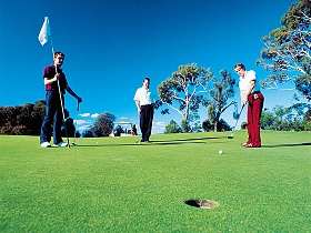 Richmond Public Golf Course - Attractions Melbourne