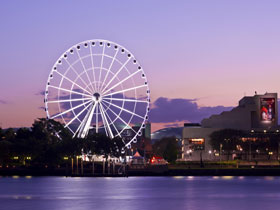 The Wheel of Brisbane - Attractions Melbourne