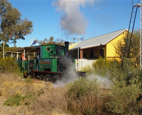 Red Cliffs Historical Steam Railway - Attractions Melbourne