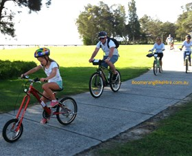 Boomerang Bikes Central Coast Bike Tours - Attractions Melbourne