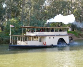 Paddlesteamer Canberra - Attractions Melbourne