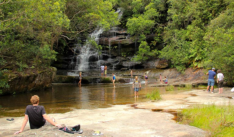 Somersby Falls picnic area - Attractions Melbourne