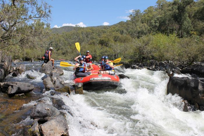 Rafting Australia - Attractions Melbourne