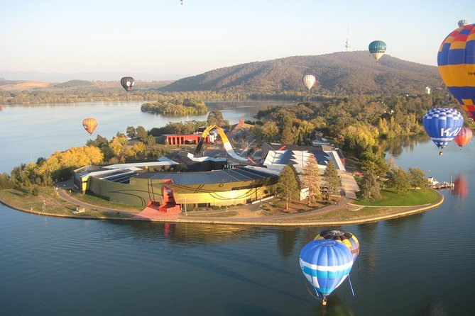 Canberra Hot Air Balloon Flight at Sunrise - Attractions Melbourne