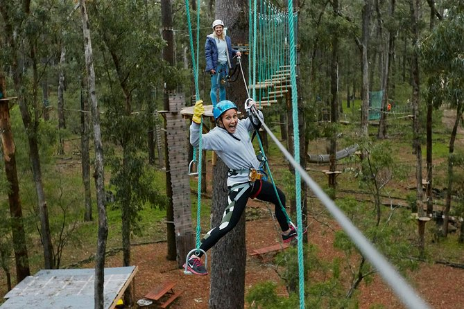 Busselton High Ropes and Zipline Adventure - Attractions Melbourne