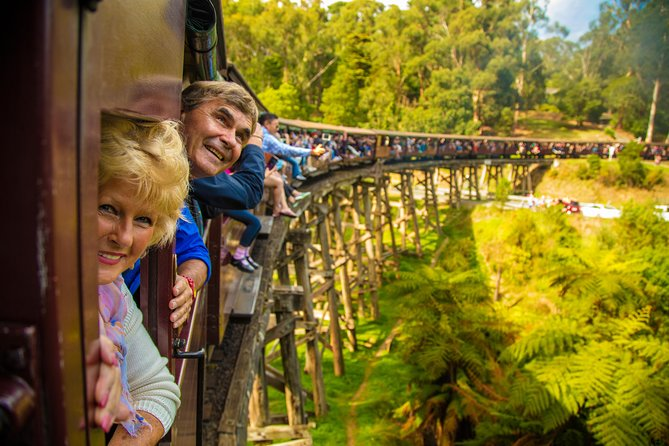 Puffing Billy Steam Train  Healesville Wildlife Sanctuary Tour From Melbourne - Attractions Melbourne