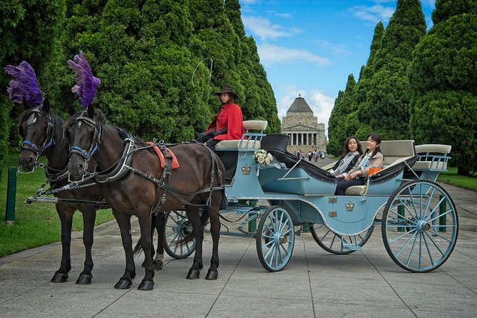 Melbourne Horse Drawn Carriage Extended Garden Tour - Attractions Melbourne