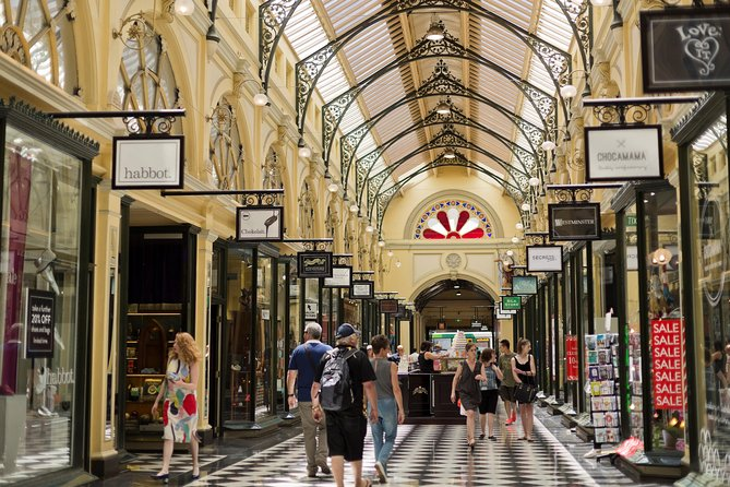 Half Day Small Group Guided Shopping Tour in Melbourne - Attractions Melbourne