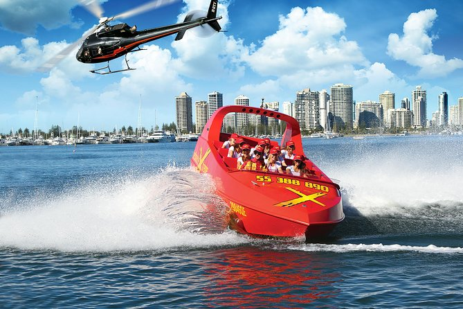 Gold Coast Helicopter 10 min Flight and Jet Boat Ride - Attractions Melbourne