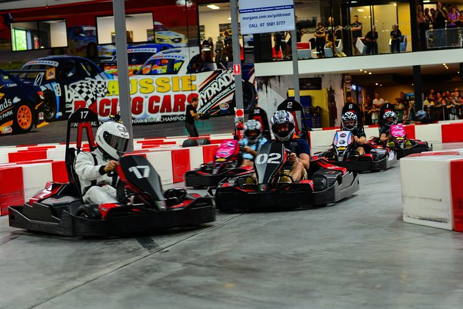 Indoor Go-Kart Racing at Game Over on the Gold Coast - Attractions Melbourne