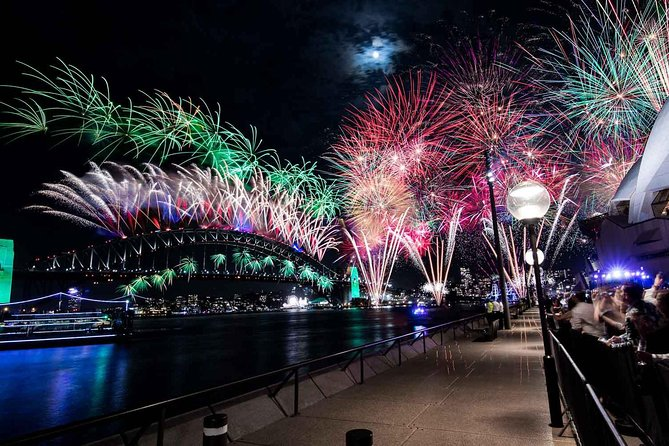 New Year's Eve under the Sydney Opera House Sails on Sydney Harbour - Attractions Melbourne