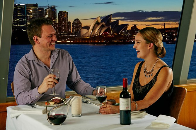 Sydney Harbour Sky Deck Gold Penfolds Dinner Cruise - Attractions Melbourne