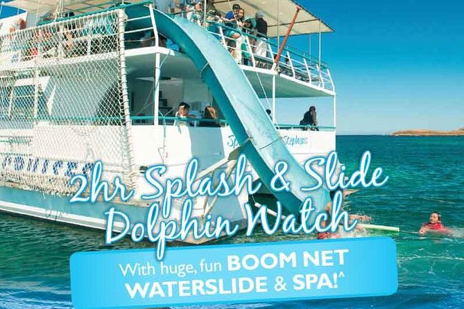 Port Stephens Dolphin Watching Cruise Including Splash and Slide - Attractions Melbourne