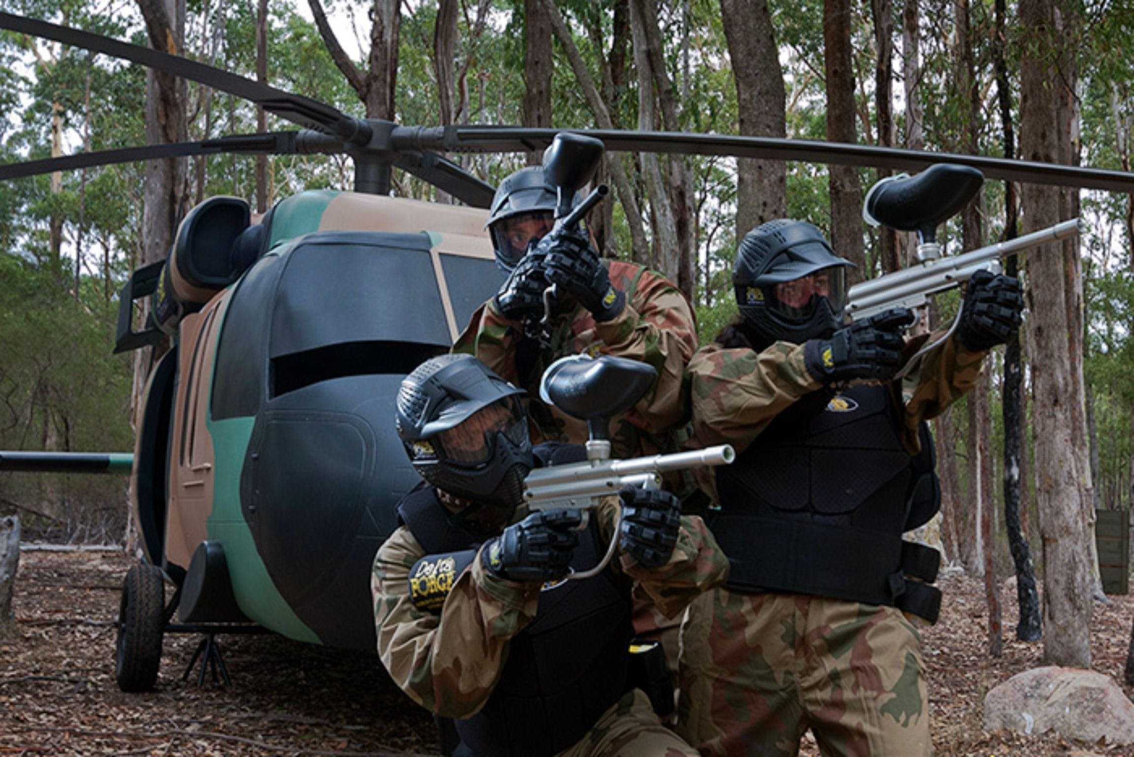 Delta Force Paintball Appin - Attractions Melbourne