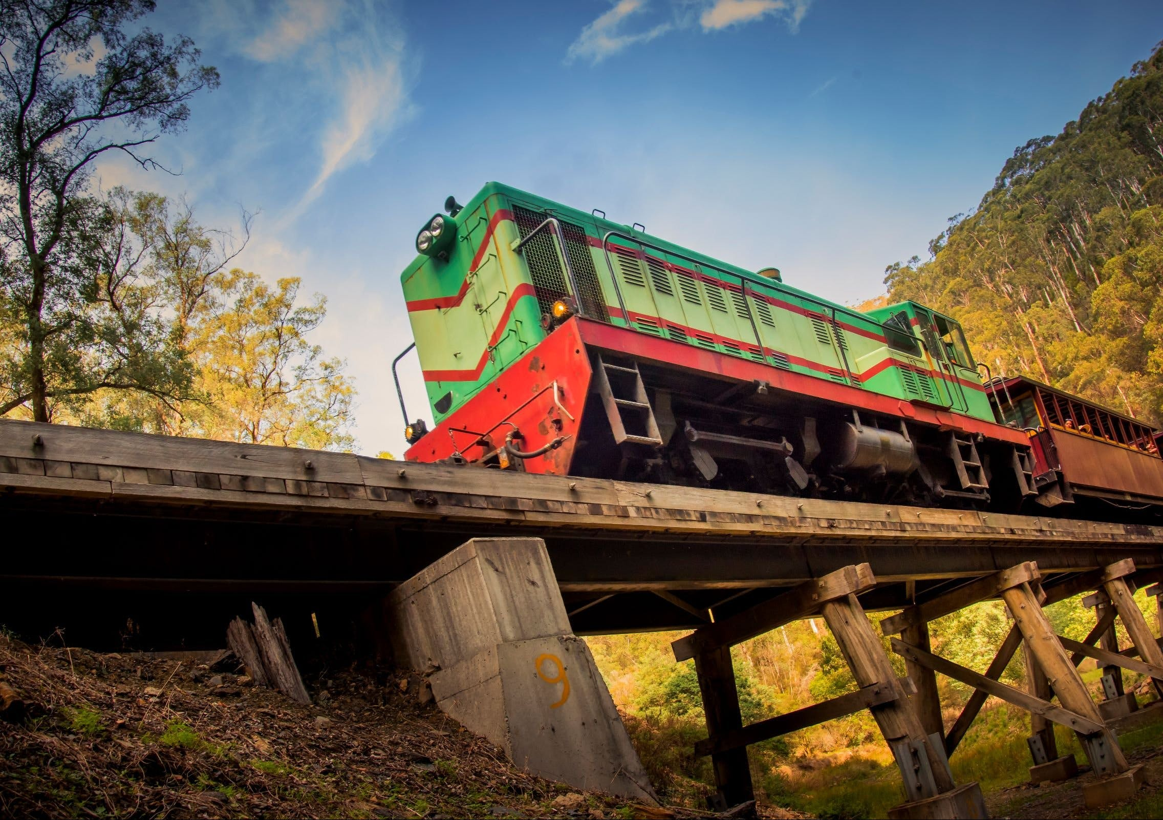 Walhalla Goldfields Railway - Attractions Melbourne