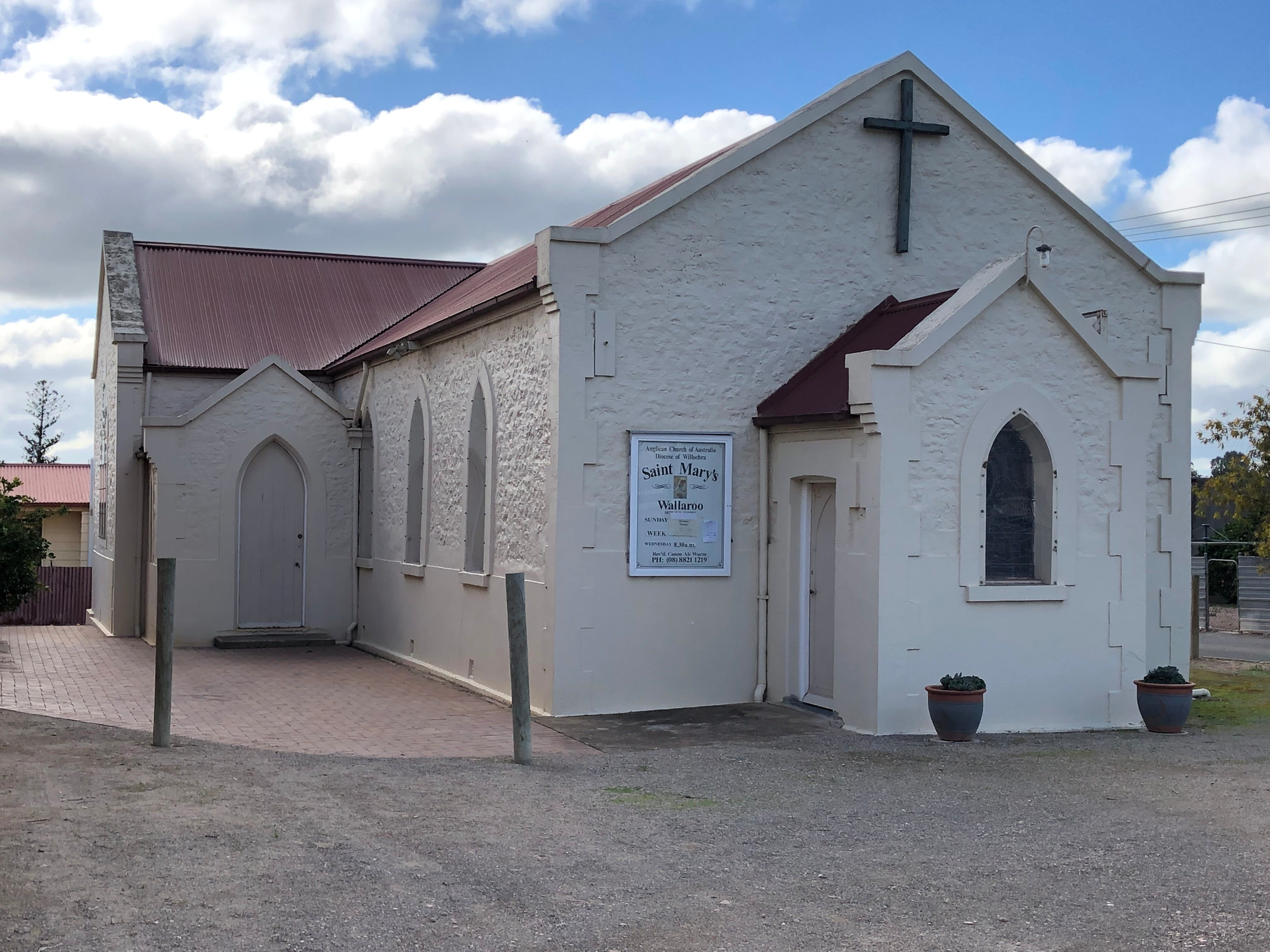 St Mary's Anglican Church Wallaroo - Attractions Melbourne