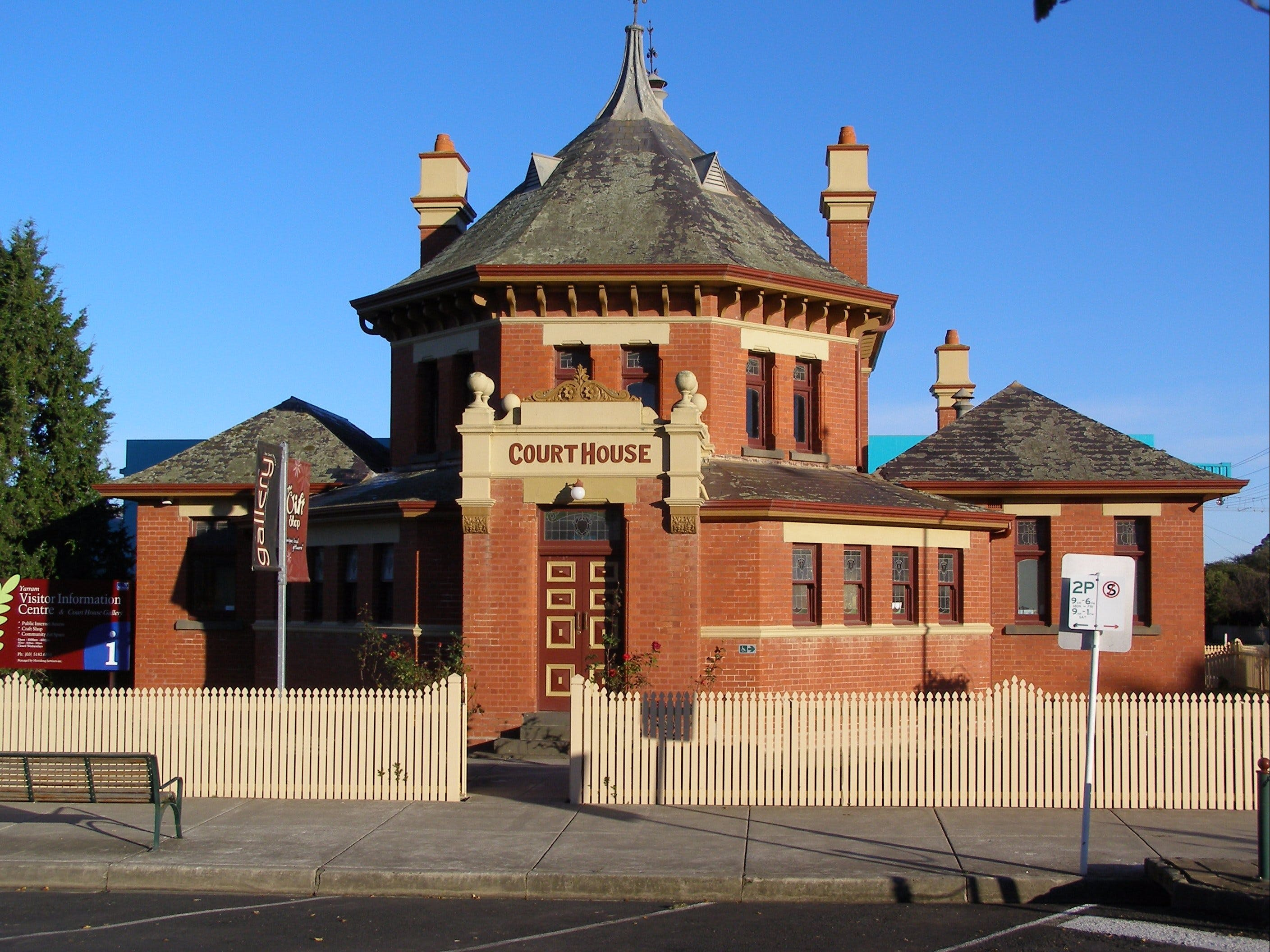 Yarram Courthouse Gallery - Attractions Melbourne