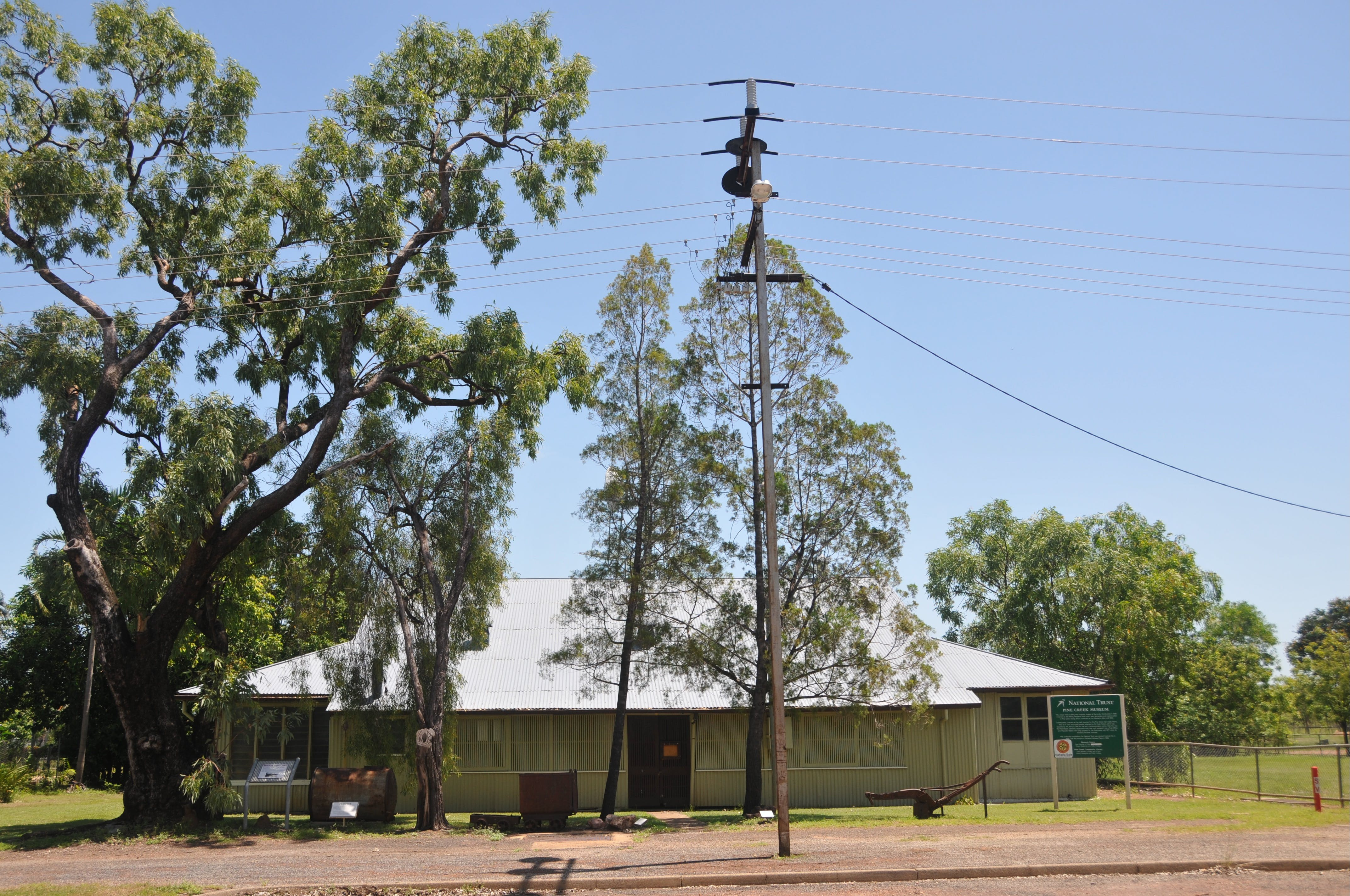 Pine Creek Post Office and Repeater Station - Attractions Melbourne