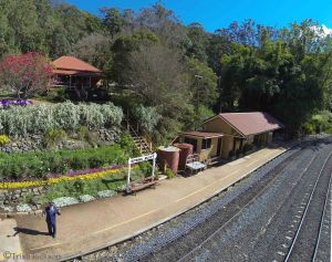 Spring Bluff Railway Station - Attractions Melbourne