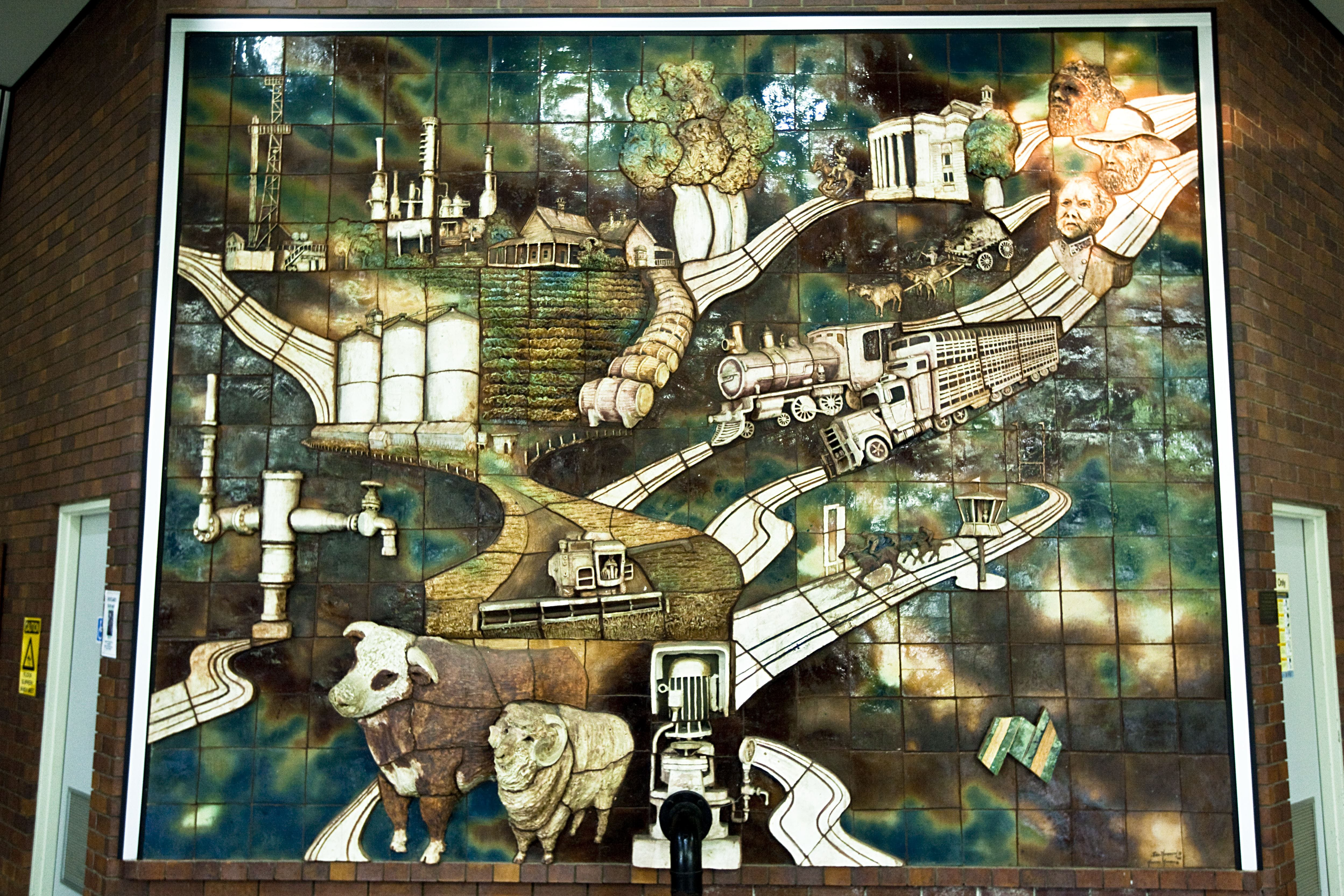 Three Dimensional Mural - Attractions Melbourne