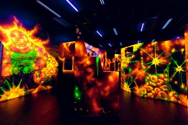 M9 Laser Skirmish - Attractions Melbourne